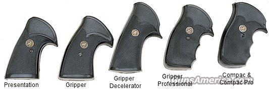 Smith & Wesson Grips K L Square Pachmayr Gripper Professional GRSKGP  Non-Guns > Gun Parts > Grips > Smith & Wesson