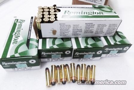 Ammo: .38 Special +P 250 Round Lot of 5 Boxes Remington UMC 125 grain JHP Jacketed Hollow Point High Performance 38 Spl Brass Case US Made Ammunition Cartridges 5x$27.80 = $139 plus $15 ship   Non-Guns > Ammunition