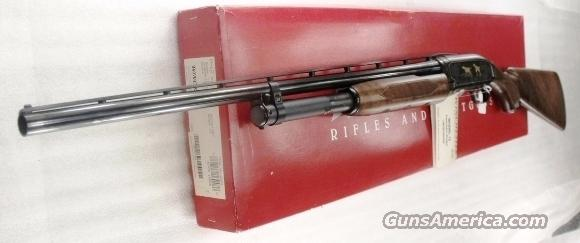 Winchester Model 12 USRAC Miroku 20 Gauge Early 1990s Near Mint in Red Box with Hang Tags Unfired 2 3/4 inch 26 Improved Cylinder Vent SKU 48706 16048   Guns > Shotguns > Winchester Shotgun Commemoratives