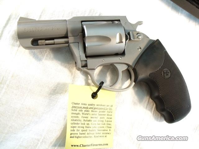 Charter .44 Special Lightweight Stainless Bulldog 2 1/2 in Mint in Box  Guns > Pistols > Charter Arms Revolvers