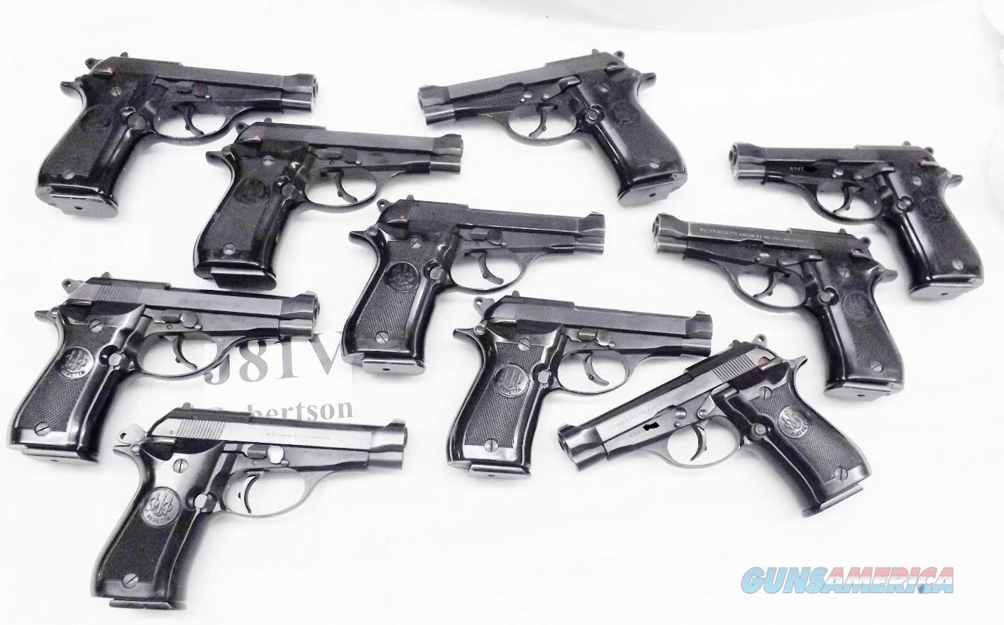 FFL Only 10 Beretta .32 ACP model 81 Cheetah Pistols $209 each & Free Ship Lower 48, 1980-81 Italian Corrections Issue VG Condition 1 – 12 Round Magazine J81F200M type Compliant Magazines available   Guns > Pistols > Beretta Pistols > Cheetah Series > Model 81