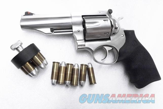 Ruger .45 Colt Redhawk 4 inch Stainless Adjustable Sights 6 Shot 45 Long Colt NIB 5027 KRH454 SS AS   Guns > Pistols > Ruger Double Action Revolver > Redhawk Type