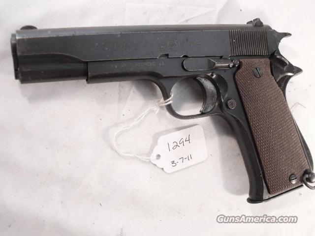 Star Spain 9mm Model BS Colt Government Size Steel Frame 1971 Israeli Army Police 1 Magazine   Guns > Pistols > Surplus Pistols & Copies
