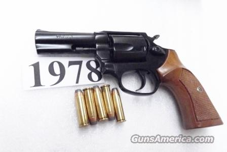 Rossi .38 Special model 351 Blue Steel 3 inch 5 Shot Full Lug Heavy Barrel Excellent in Box Factory Demo Walnut Grips Discontinued 38 spl S&W 36-10 Classic Stand In R35103U  Guns > Pistols > Rossi Revolvers