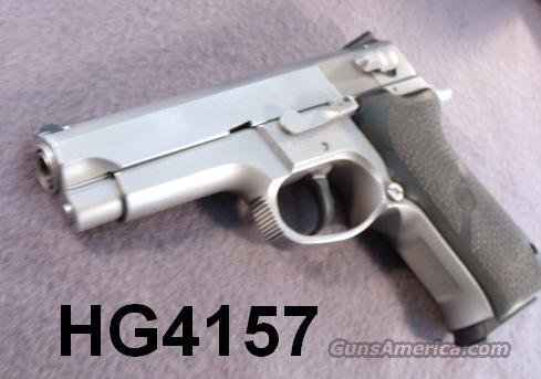 S&W 9mm 5906 SS Exc 1996 Refin. 2 Mags Hogues S&W Box   Guns > Pistols > Smith & Wesson Pistols - Autos > Steel Frame