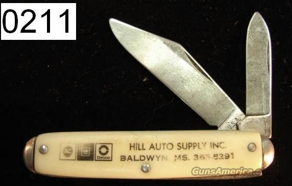 Knife Colonial Mississippi Advertising Knife Late 1970s Very Good PK211  Non-Guns > Knives/Swords > Knives > Folding Blade > Hand Made