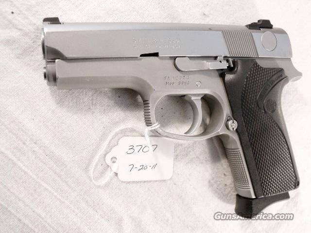 S&W 9mm model 3953 Compact Lightweight Stainless Double Action Only VG 1 Magazine Prince George's County Maryland Police 1992 Mfg Smith & Wesson  Guns > Pistols > Smith & Wesson Pistols - Autos > Alloy Frame