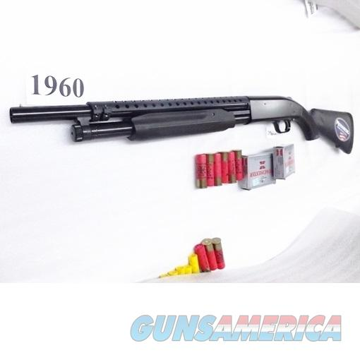 Mossberg 12 gauge model 500 Special Purpose Persuader with Trench Gun type Heat Shield 3 inch 18 Cyl 6 Shot Exc Factory Demo 50411TU Riot Tactical Pump Riot Shotgun   Guns > Shotguns > Mossberg Shotguns > Pump > Tactical