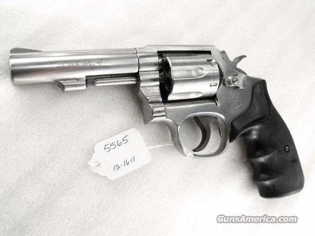 S&W .38 Spl 64-5 Stainless Heavy Barrel 4 inch VG 1994 Ohio Dept of Corrections Smith & Wesson 38 Special +P Model 64	  Guns > Pistols > Smith & Wesson Revolvers > Full Frame Revolver