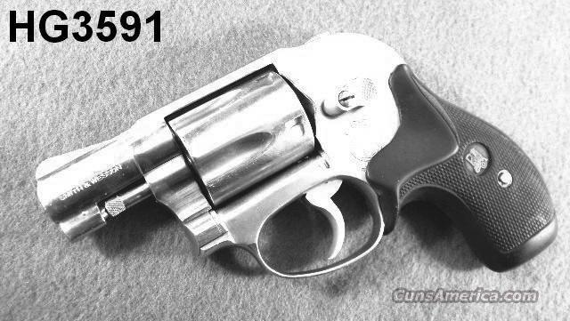 S&W .38 Spl 649 Bodyguard Stainless VG 1986   Guns > Pistols > Smith & Wesson Revolvers > Pocket Pistols