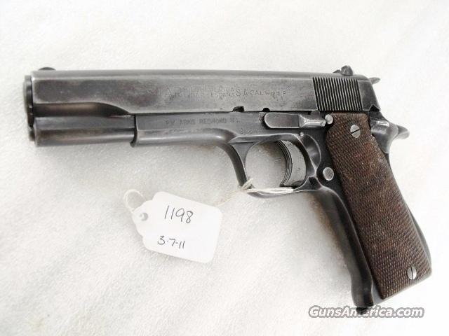 Star Spain 9mm Model B Colt Government Size Steel Frame 1958 Israeli Army Police 1 Magazine  Guns > Pistols > Surplus Pistols & Copies