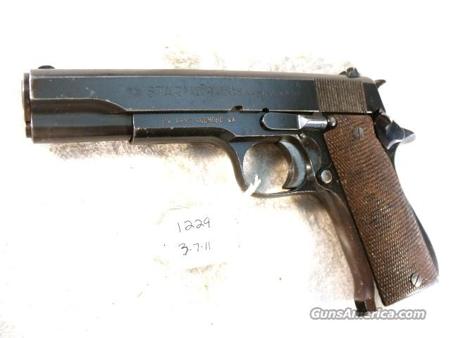 Star 9mm Model BS Colt Government Size Steel Frame 1971 Israeli Army Police VG 1 Magazine  Guns > Pistols > Military Misc. Pistols Non-US