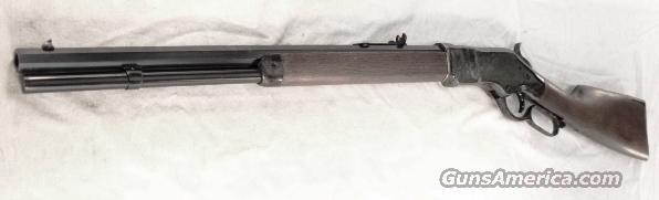 1866 Winchester King's Improvement close Copy Chaparral Arms .45 Long Colt 1866 Color Casehardened Walnut NIB Transitional Style close to 1873 Model Navy Arms Competitor   Guns > Rifles > Winchester Replica Rifle Misc.