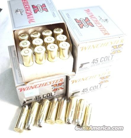 Ammo: .45 Colt Winchester Silvertip 225 SHP 120 round Lot of 6 Boxes  Non-Guns > Ammunition