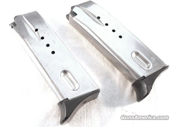Magazine S&W 9mm 6900 Ban Period LE 12 round Finger Rest Stainless 469 669 6906 6946 6943 Kel Tec P11 Marlin Camp 9 Carbine California Department of Corrections ca 2000  Non-Guns > Magazines & Clips > Pistol Magazines > Smith & Wesson