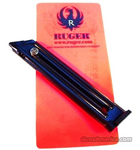 Magazines for Ruger Mark III Pistols .22 LR Auto Factory 10 Shot Blue Steel New XM90231 Mk 3 Steel Frame Pistols Only   Non-Guns > Magazines & Clips > Pistol Magazines > Other