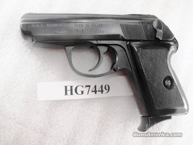 Radom 9x18 Model P64 Excellent Condition Polish Federal Police P-64 9mm Makarov Lucznik Poland 1971 with 1 Magazine   Guns > Pistols > Surplus Pistols & Copies