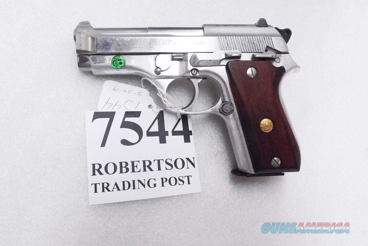 Taurus .380 model PT58 SS Stainless 1580049 Very Good 1 Magazine Wood Grips 1992 Production Extra Magazine Offer   Guns > Pistols > Taurus Pistols/Revolvers > Pistols > Steel Frame