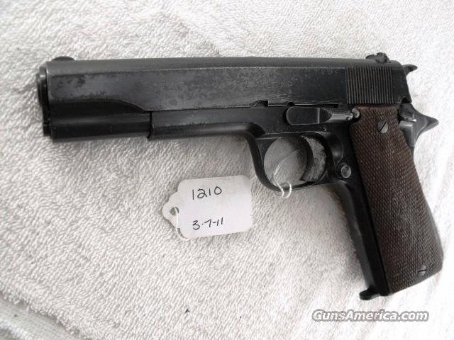 Star Spain 9mm Model B Colt Government Size Steel Frame 1941 Israeli Army Police 1 Magazine  Guns > Pistols > Star Pistols