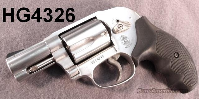 S&W .357 Magnum 649-5 Stainless Bodyguard Near Mint in Box First Day Production  Guns > Pistols > Smith & Wesson Revolvers > Pocket Pistols