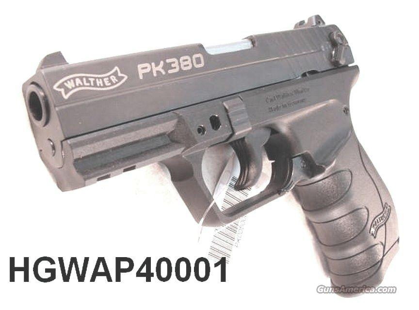 Walther .380 PK380 Black Polymer   Guns > Pistols > Walther Pistols > Post WWII > Large Frame Autos