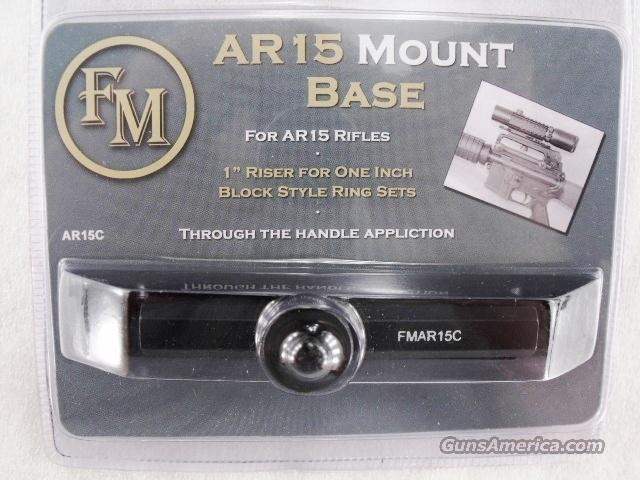 Colt AR-15 type Scope Mount Old Conventional Type Handle Mount Base FM Brand New SMFMARM Not for Picatinny Rails   Non-Guns > Scopes/Mounts/Rings & Optics > Mounts > Tactical Rail Mounted