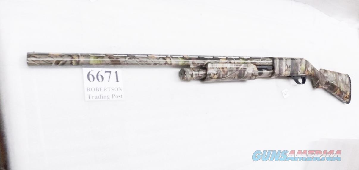 Akkar 12 gauge Model 335 Master Mag 3 1/2 inch Super Mag  Pump Camo 28 inch Ported Barrel 1 .701 Rem-Choke 34141 Excellent Charles Daly Importer 2010  Guns > Shotguns > AKKAR