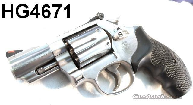 S&W .357 model 66-7 Sts 2 1/2 in Round Butt Exc 2004 CA Legal	  Guns > Pistols > Smith & Wesson Revolvers > Pocket Pistols
