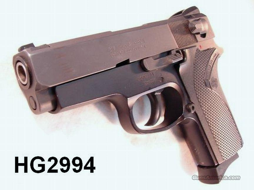 S&W 9mm Model 908 = Economy 3914 Exc in Box 2 Mags   Guns > Pistols > Smith & Wesson Pistols - Autos > Alloy Frame