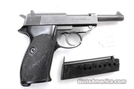 Walther 9mm P38 Lightweight Military 1960 P-38 Federal German Police Bundespolizei CA C&R OK with 1 Factory 8 Shot Magazine  Guns > Pistols > Walther Pistols > Post WWII > P38
