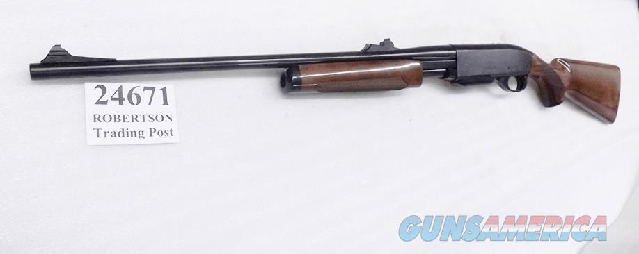 Remington .30-06 Pump model 7600 Rifle NIB 24671 Bright Blue & Gloss Walnut Free Floating 22 inch Barrel Discontinued 5 round Detachable w/10 rounder offer   Guns > Rifles > Remington Rifles - Modern > Other