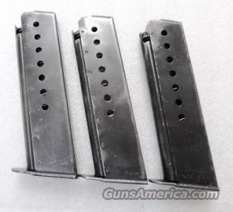 Lots of 3 or more Magazines Walther P-38 9mm P-1 Factory 8 Shot Parkerized G-VG Condition German Federal Police P38 P1 Clip $29 per on 3 or more  Non-Guns > Magazines & Clips > Pistol Magazines > Other