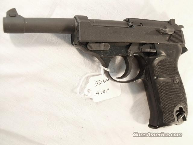 Walther 9mm P-38 Lightweight Parkerized VG 1962 P38 Federal German Police Bundespolizei C&R CA Eligible in 2012  Guns > Pistols > Walther Pistols > Post WWII > P38