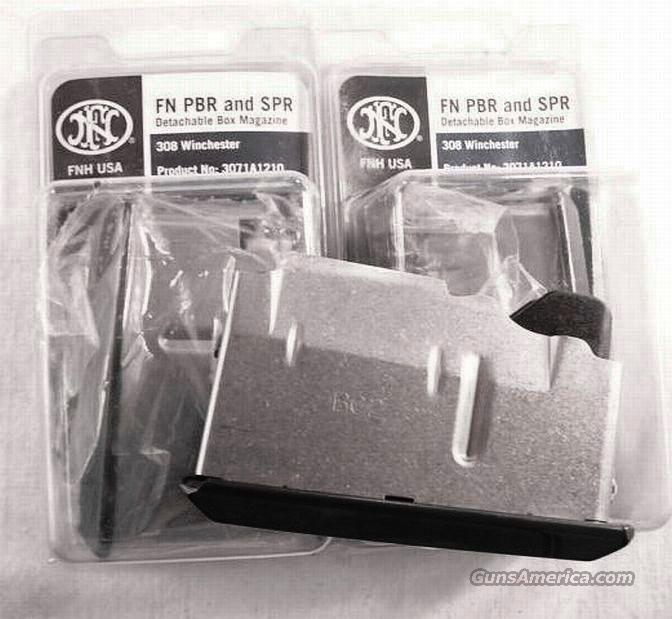 Magazine FN .308 A1 or A1A Box 5 Shot Factory NIB  Non-Guns > Magazines & Clips > Rifle Magazines > Other