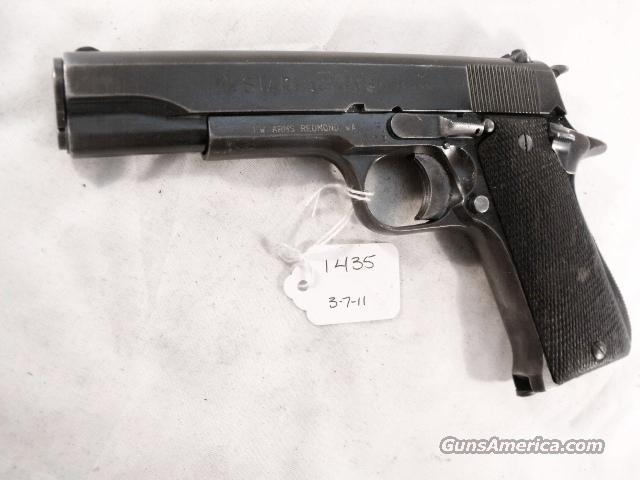 Star Spain 9mm Model B marked O Colt Government Size Steel Frame 1953 Israeli Army Police 1 Magazine  Guns > Pistols > Surplus Pistols & Copies