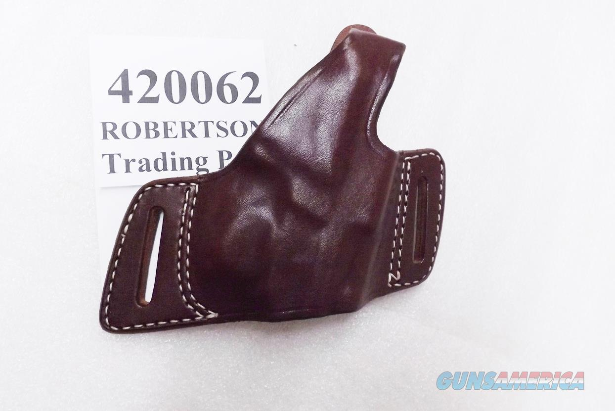 Triple K Leather Holster Secret Agent 420062 Sig P220 P224 P225 P226 P228 P229 P239 BDA H&K P2000 S&W 59 5900 4000 SD Thumb Break Right Hand Brown Walnut Oil 3 ship Free!  Non-Guns > Holsters and Gunleather > Large Frame Auto