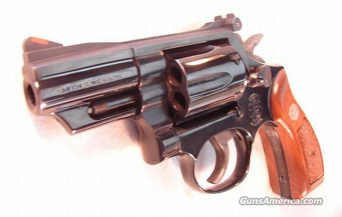 S&W .357 Mag 19-5 Blue 2 1/2 Rd Butt Exc w/Box 1983  Guns > Pistols > Smith & Wesson Revolvers > Full Frame Revolver