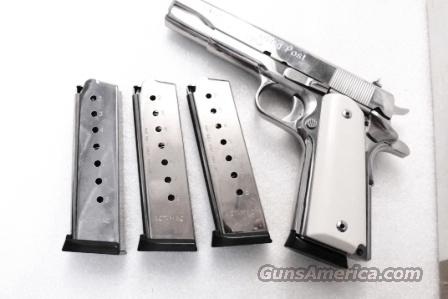 3 Magazines .45 ACP Government 1911 Nickel Steel 8 Shot ACT-Mag Brand New Italian Made Mec Gar Competitor 45 Automatic Free 3x$26  Non-Guns > Magazines & Clips > Pistol Magazines > 1911