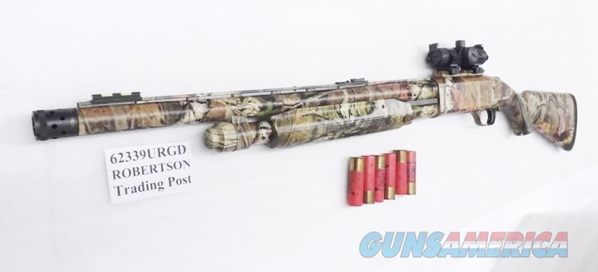 Mossberg 12 gauge Model 835 Ulti Mag Turkey Thug 20 inch Camo FM Red Green Dot Combo 3.5 in Vent Rib .690 Accu Mag LPA 6 Shot Exc Factory Box Demo 62339  Guns > Shotguns > Mossberg Shotguns > Pump > Sporting