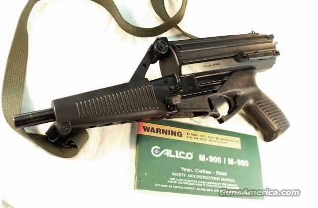 Calico 9mm 950 Helical 50 Shot Exc with Manual  Guns > Pistols > Intratec Pistols