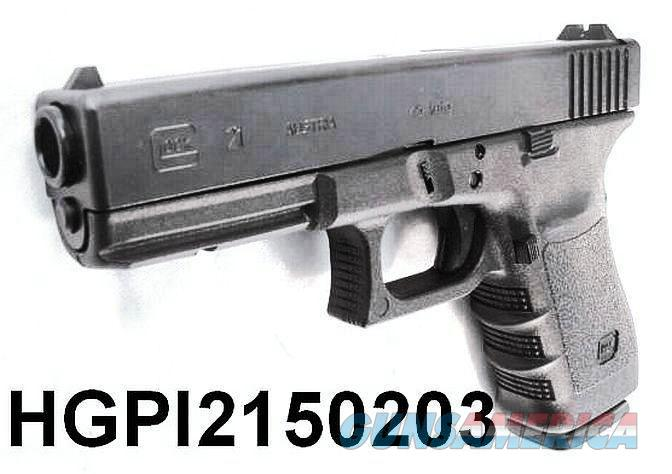 Glock .45 ACP model 21 Black 14 Shot with 2 High Capacity 13 Shot Magazines Brand New in Box PI2150203 45 Automatic   Guns > Pistols > Glock Pistols > 20/21