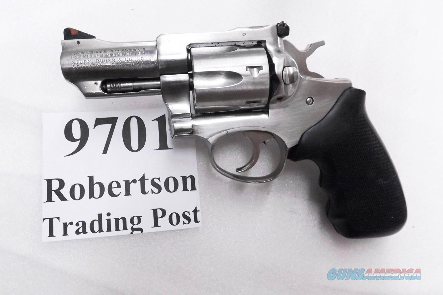 Ruger .357 Magnum Security Six KGA32 Stainless 2 3/4 inch Caribbean Security Retouched Finish 1983  Guns > Pistols > Ruger Double Action Revolver > Security Six Type