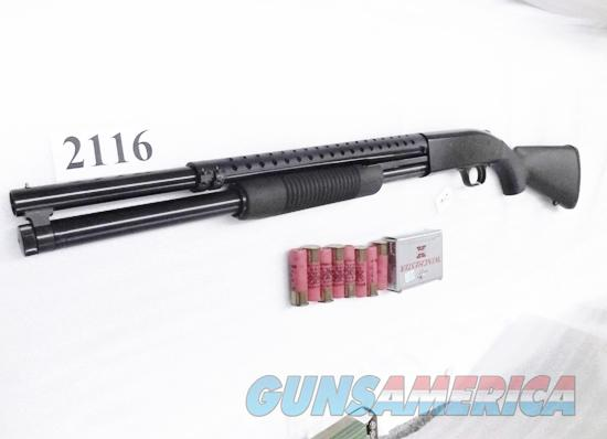 Mossberg 12 gauge 500 Persuader 8 Shot Special Purpose Security 3 in 20 cyl with Trench Gun type Heat Shield Excellent Factory Demo in Box 50557T  Guns > Shotguns > Mossberg Shotguns > Pump > Tactical