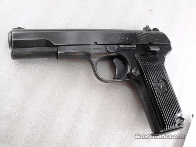 Zastava 7.62x25 M57 Tokarev 1 Magazine 762 32 C&R, CA OK 1960 Cold Warrior	  Guns > Pistols > Surplus Pistols & Copies