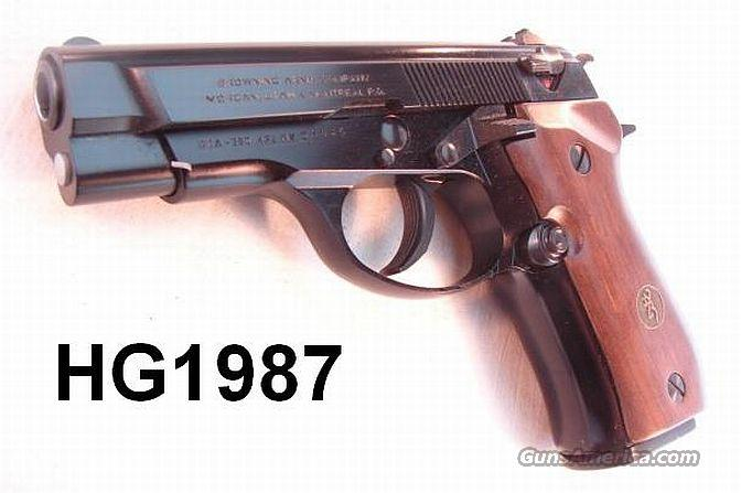 Browning .380 BDA380 Mint in Box 2 Mags 1995  Guns > Pistols > Browning Pistols > Other Autos