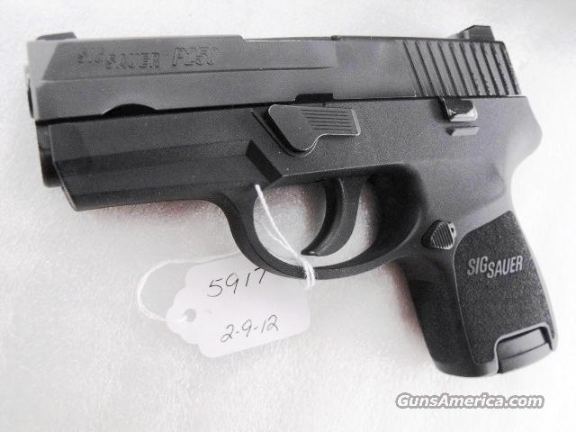Sig 9mm P250 Compact Near Mint in Box Double Action Only P-250  Guns > Pistols > Sig - Sauer/Sigarms Pistols > 2022