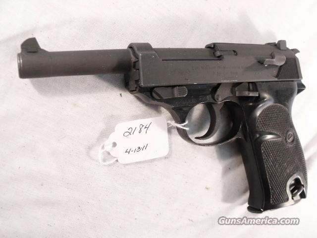 Walther 9mm P-38 Lightweight Parkerized VG 1962 P38 Federal German Police Bundespolizei   Guns > Pistols > Walther Pistols > Post WWII > P-38