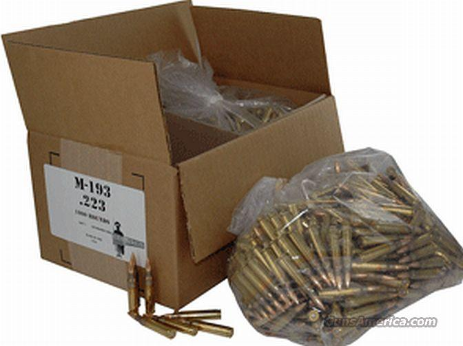 Ammo: .223 Mil-Spec Case of 1,000 Rounds Centurion / Aguila 223 Remington 5.56 556 NATO Ammunition Cartridges  Non-Guns > Ammunition