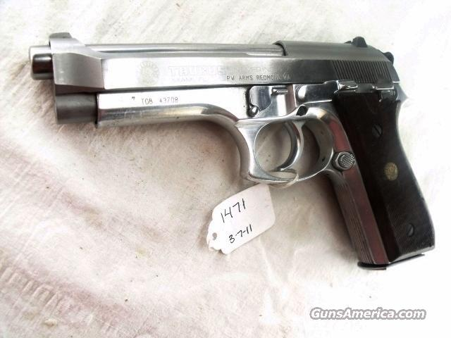 Taurus 9mm Model PT92AFS Stainless Alloy 16 Shot 1 Magazine Israeli Police VG California OK  Guns > Pistols > Surplus Pistols & Copies