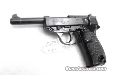 Walther 9mm P38 variant P1 Lightweight Military 1980 P-1 German Federal Border Guard BGS P-38 Descendant CA OK with 1 Factory 8 Shot Magazine Hex Bolt Reinforced Frame  Guns > Pistols > Walther Pistols > Post WWII > P38